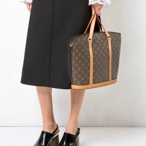 Vintage Authentic Louis Vuitton Babylone Tote